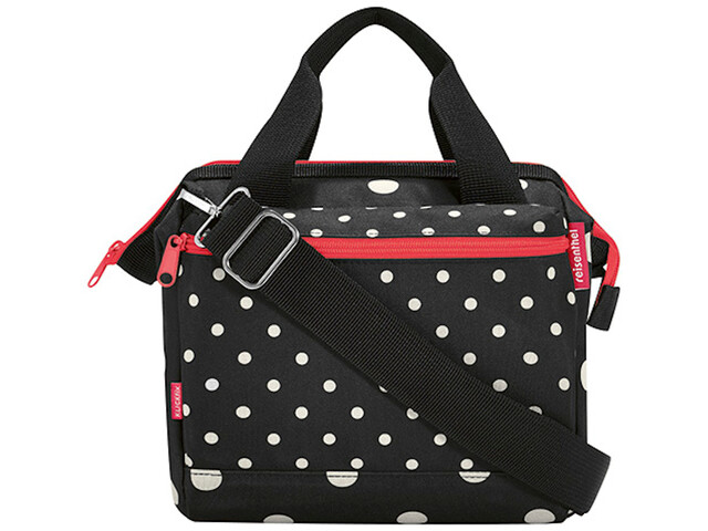 KlickFix Roomy Handlebar Bag, mixed dots
